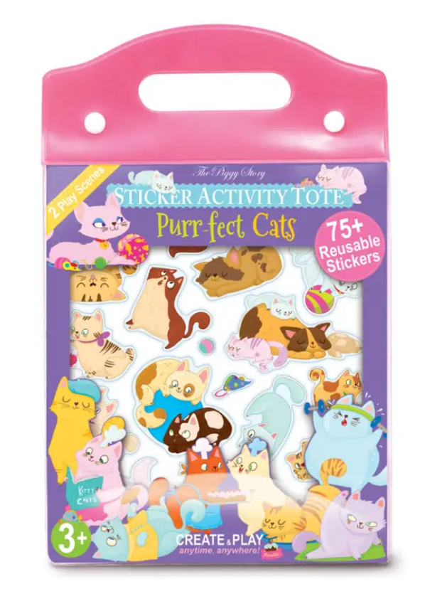 The Piggy Story Sticker Activity Tote