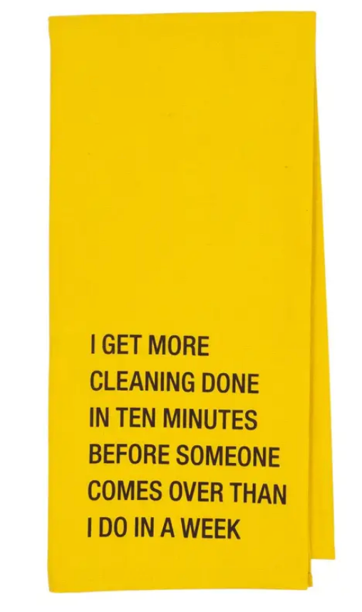 Funny Quote Tea Towels