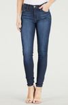 Judy Blue High Waisted Dark Blue Handsand Rayon Skinny Jeans