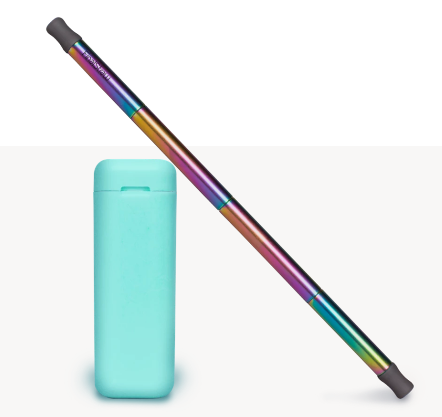 FinalStraw Stainless Steel Reusable Rainbow Straw
