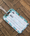 Graphic Luggage Tags