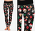 Santa Dogs Printed Leggings