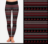 Christmas Fair Isle Printed Leggings