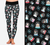 Snow Globes Printed Leggings