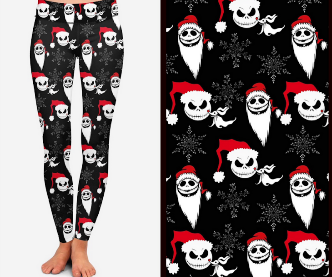 Jack Christmas Printed Leggings