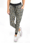 Grace and Lace Leopard Jogger