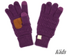 C.C. Beanie Kids Gloves with Fingers