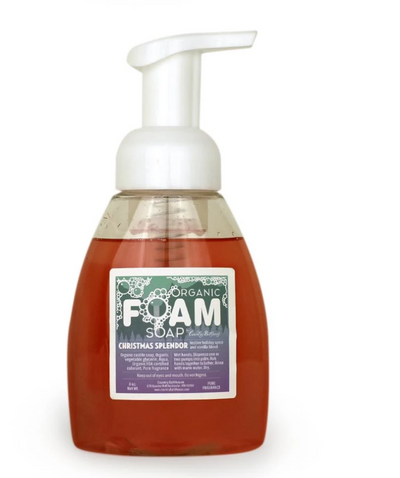 Organic Foam Soap - Holiday Scented