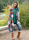Grace and Lace Holiday Cheer Winter Weight Pocket Poncho