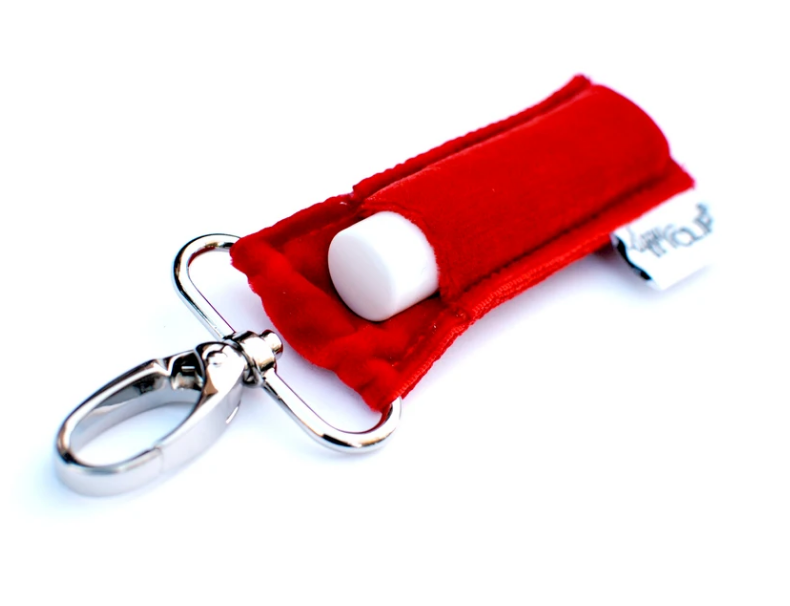 LippyClip® Velvet Lip Balm Holder