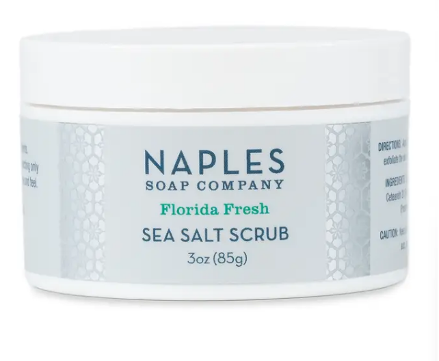 Naples Soap Co. Sea Salt Scrub - 3oz