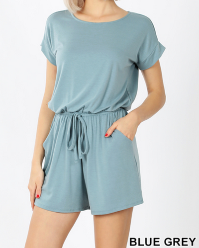Simple Romper with Pockets