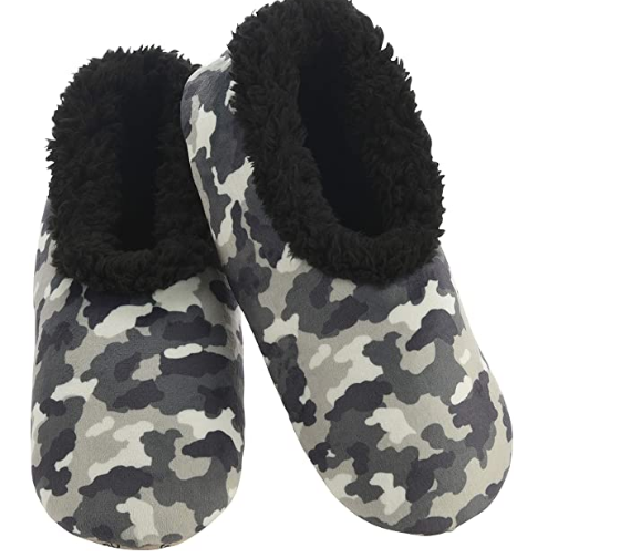 Snoozies Camo Slippers