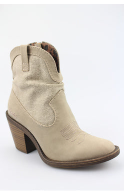 Blowfish Lolly Boot - Taupe Rancher Canvas