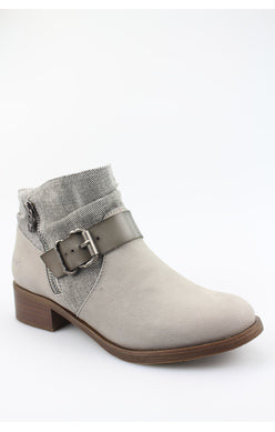 Blowfish Viten Buckle Bootie - Grey Smokey