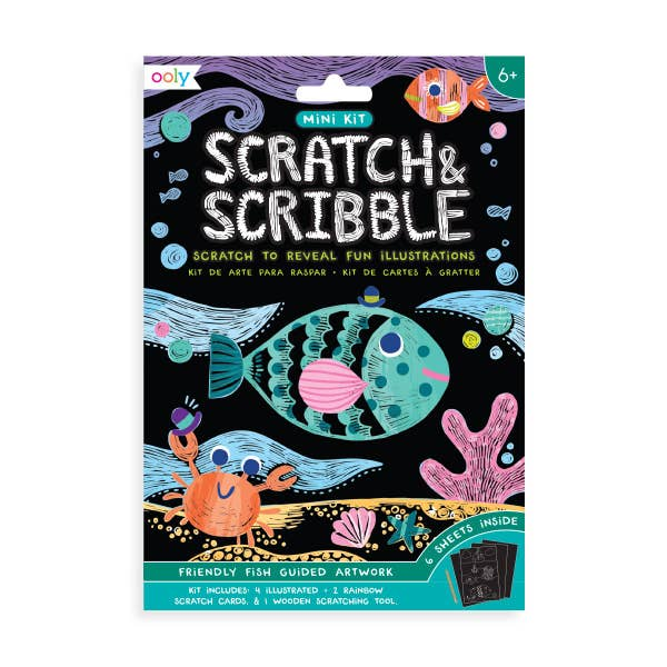 Mini Scratch and Scribble Art Kit