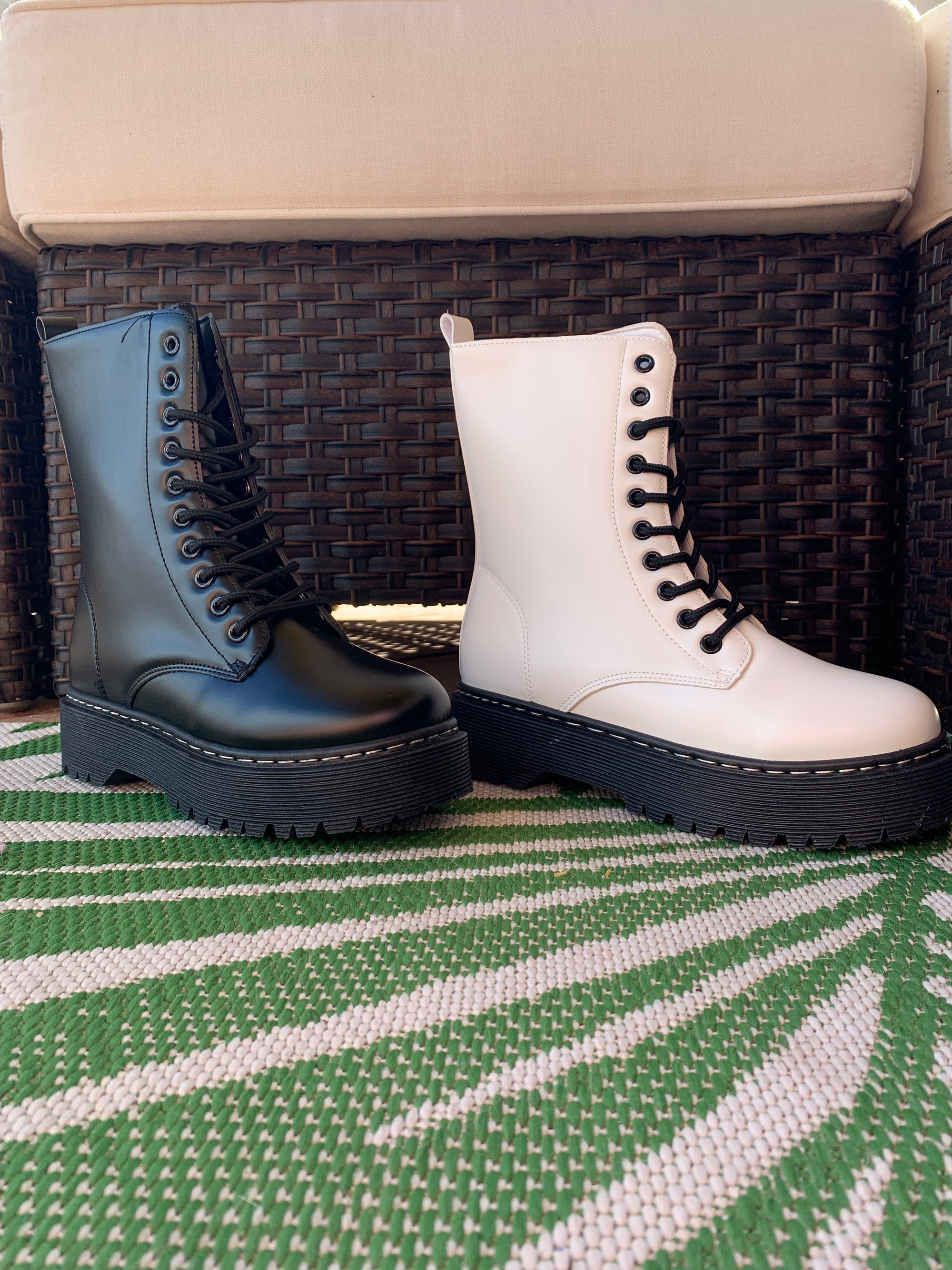 Louisa Combat Boot
