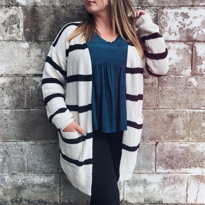 Coffeehouse Striped Sweater