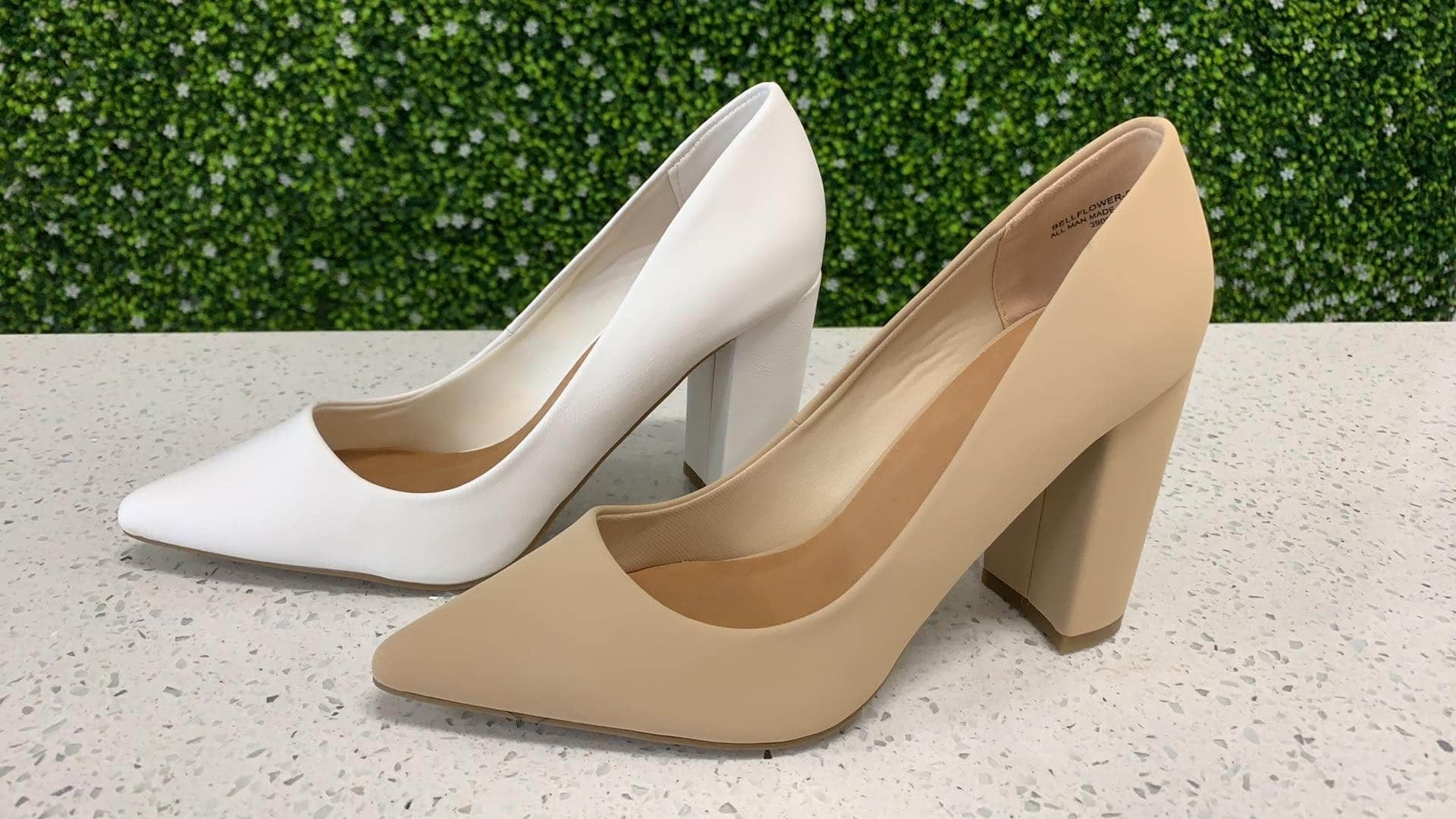 Bamboo Bellflower Pointy Toe Pump