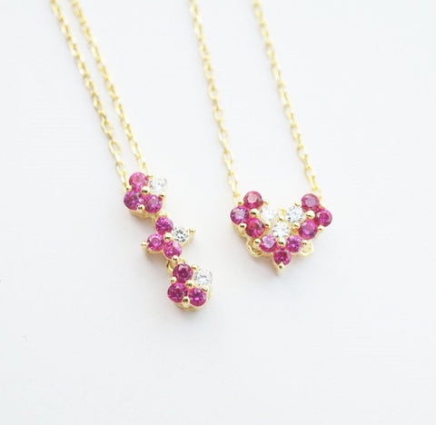 Two Way Heart Necklace