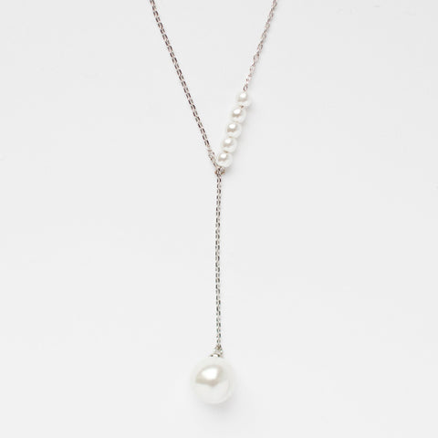 Pearl 925 Sterling Silver Necklace