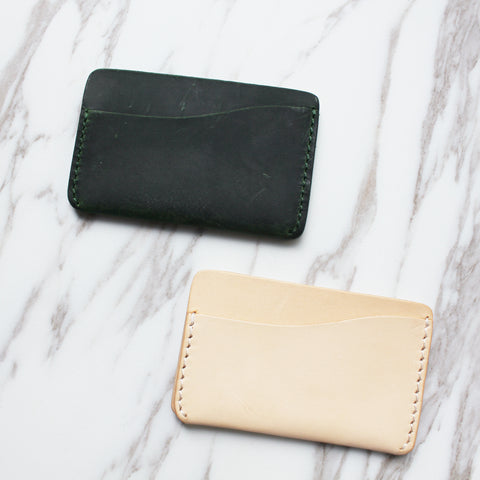 Handmade Leather Cardholder