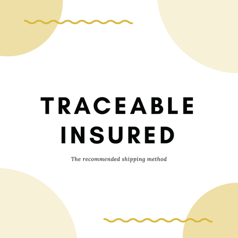 Upgrade Traceable and Insured Shipping Fee