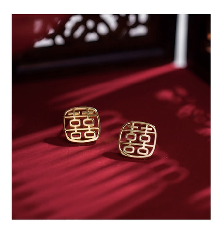 Xi Earrings Gold -Special Edition