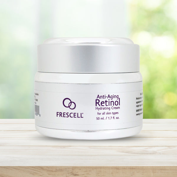 FRESCELL Anti-Aging Retinol Hydrating Cream for all skin types