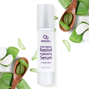 FRESCELL Anti-Aging Retinol Hydrating Serum for all skin types