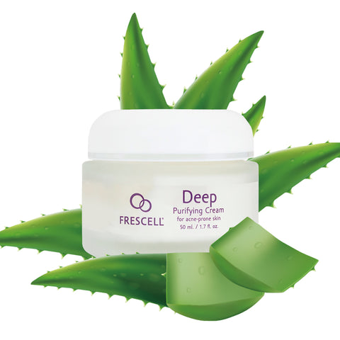 FRESCELL Deep Purifying Cream for acne-prone skin