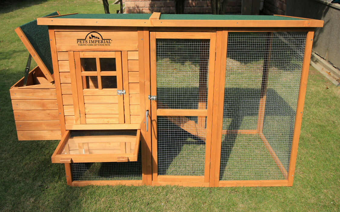 Chicken Coop House For 4-6 Birds