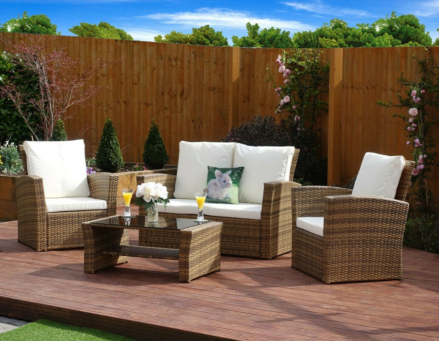 Rattan Garden Sofa Furniture Set
