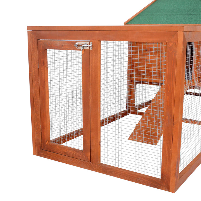 Chicken Coop Rabbit Hutch Run