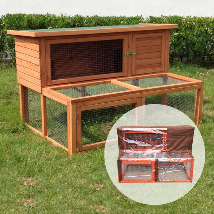 Rabbit Hutch 4FT With Run