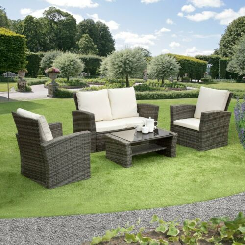 Rattan Garden Sofa Furniture Set in Various Colours