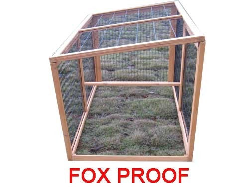 Large Chicken Coop House XXL 8FT For 5-8 Birds