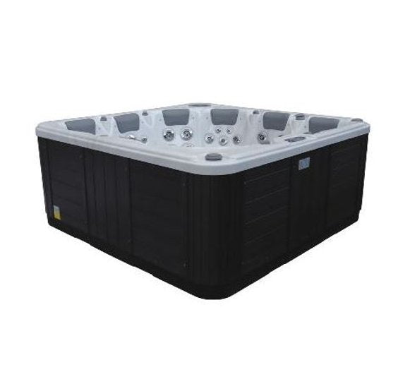 Khal Hot Tub Spa Bluetooth Stereo 2 Pumps 2 Loungers 4 Seats R10 Call to order: 07809107843