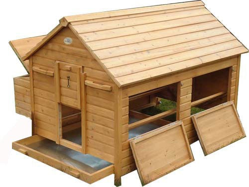 Chicken House Coop On Wheels For 18 Chickens