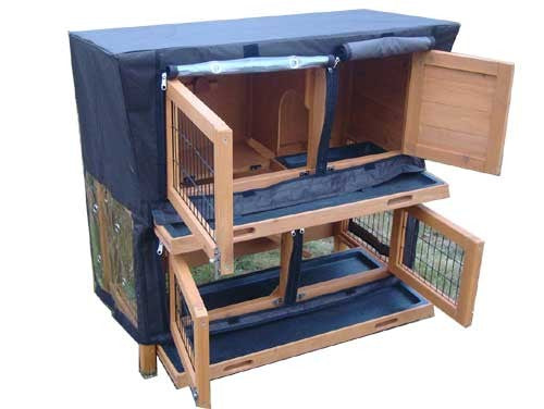Rabbit Large 2 Tier Hutch