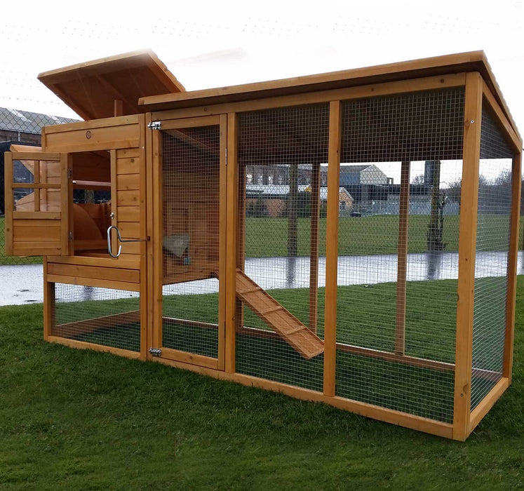 Large Hen House 8FT - BlueWhaleSales