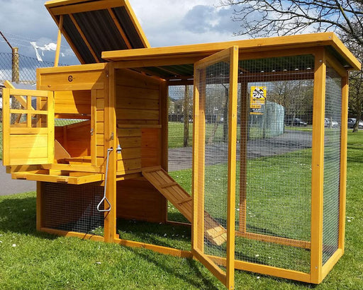 Chicken Coop Hutch House - BlueWhaleSales