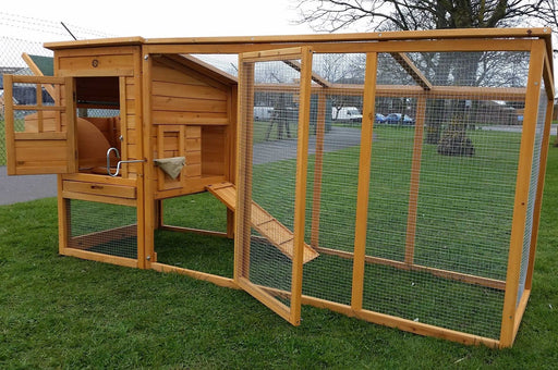 Large 8FT Chicken Coop Hutch - BlueWhaleSales