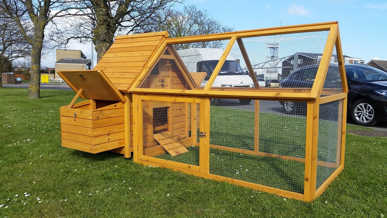 Chicken Coop Double Nest Box - BlueWhaleSales