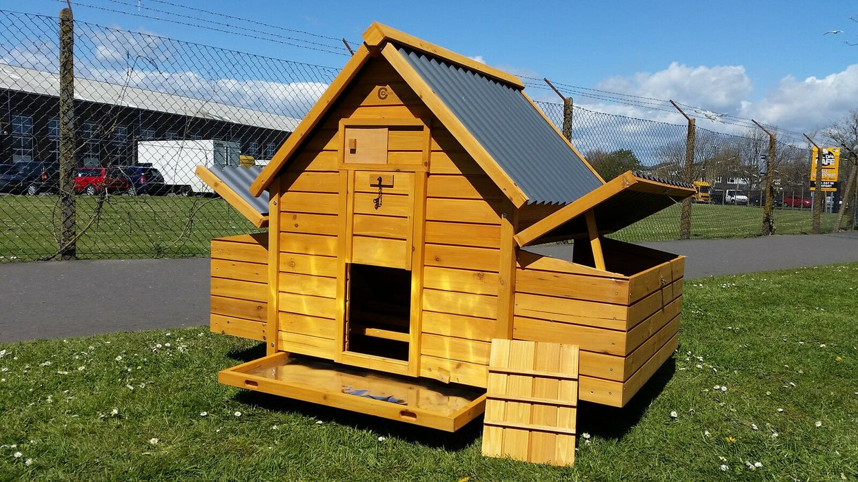 Large Chicken Coop Run Hen House - BlueWhaleSales