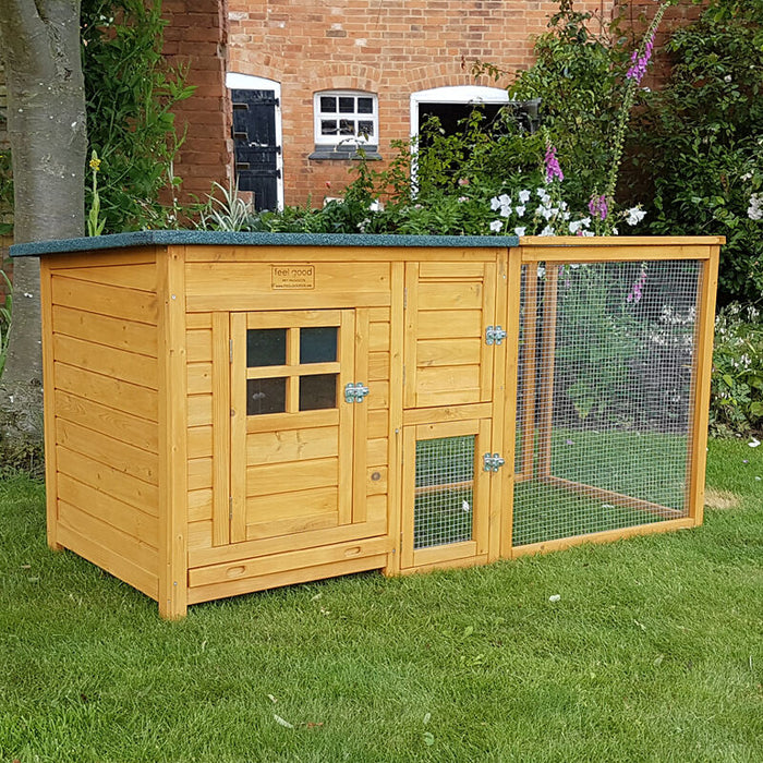 Chicken Coop Nest Box Hen House Rabbit Hutch - BlueWhaleSales