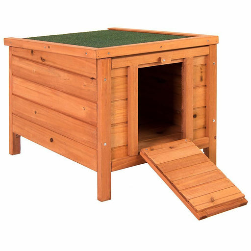 Rabbit & Guinea Pig House Wooden Hutch - BlueWhaleSales