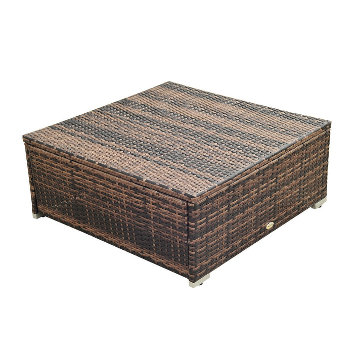 Rattan Corner Sofa Furniture Set