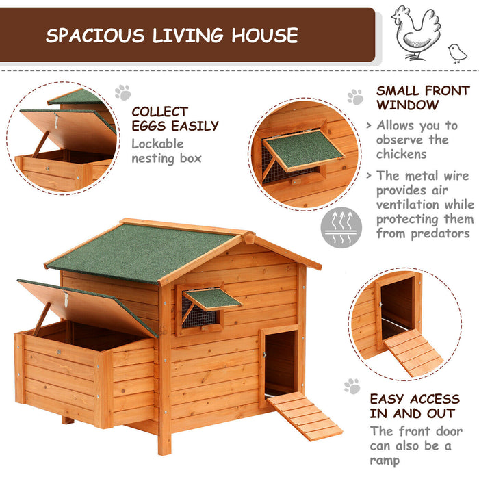 Chicken Coop Hen House
