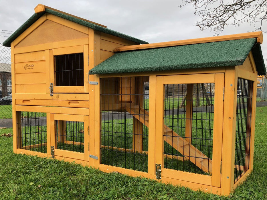 Rabbit Hutch With Run 5FT
